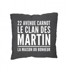 Coussin adresse