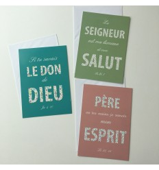 Cartes avec un message catholique